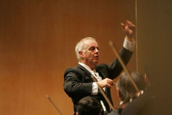 Orquesta West-Eastern Divan. Dirección: Daniel Barenboim. Foto: Sofía Menéndez