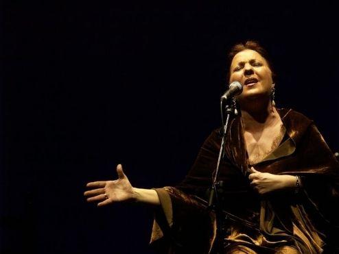Carmen Linares. Foto: Daniel Muñoz