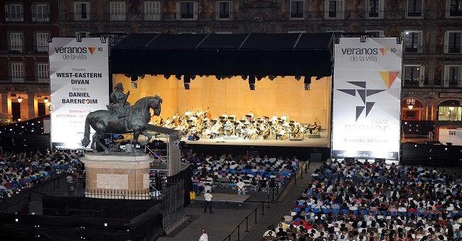 Orquesta West-Eastern Divan. Maestro Daniel Barenboim. Foto: Andrés de Gabriel