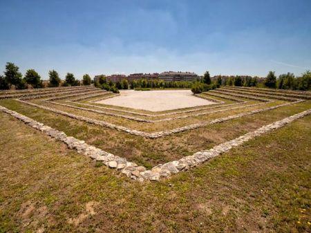 Paisaje o vista de Parque de la Cuña Verde de O´Donnell  / Auditorio al aire libre